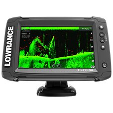 Lowrance Elite-7 Ti Mid/High/TotalScan Touchscreen Fishfinder/Chartplotter with US/Canada Navionics+ Card