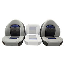 Wise Pro Angler Series Bass Bucket Seat 2-Unit Set