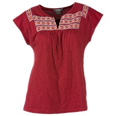 Natural Reflections Embroidered Blouse for Ladies