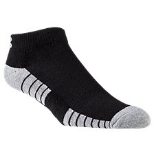 Under Armour HeatGear Tech Lo Cut Training Socks for Men - 3-Pair Pack