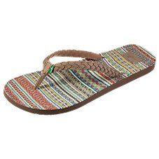Sanuk Yoga Poncho Viva Thong Sandals for Ladies