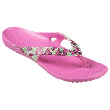 Crocs Kadee II Graphic Flip Sandals for Ladies