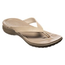 Crocs Capri V Flip Thong Sandals for Ladies