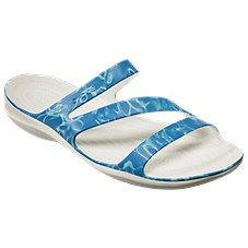 Crocs Swiftwater Graphic Sandals for Ladies