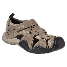 Crocs Swiftwater Suede Water Shoes for Men