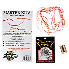White River Fly Shop Masters San Juan Worm Fly Tying Kit