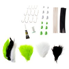 White River Fly Shop Masters Foam Popper Fly Tying Kit
