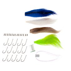 White River Fly Shop Masters Deep Minnow Saltwater Fly Tying Kit