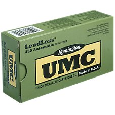 Remington UMC Leadless Handgun Ammo