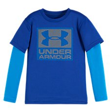 Under Armour Hi/Bye Slider Shirt for Toddlers or Boys