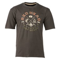 RedHead Vintage Outdoors Collection Campers T-Shirt for Men