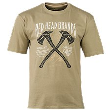 RedHead Crossing Axes T-Shirt for Men