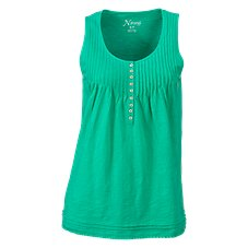 Natural Reflections Pintuck Henley Tank Top for Ladies