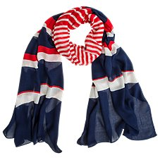 Quagga Starboard Stripes Scarf for Ladies