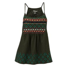 Natural Reflections Embroidered Tank Top for Ladies