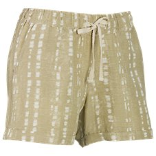 Natural Reflections Ikat Print Drawstring Shorts for Ladies