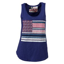 Natural Reflections Mixed Print Tank Top for Ladies