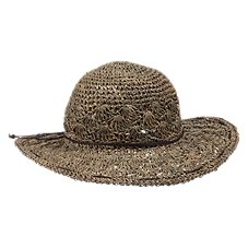 Bob Timberlake Seagrass Straw Sun Hat for Ladies
