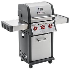 Mr. Steak 3-Burner Propane Grill