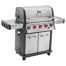 Mr. Steak 5-Burner Propane Grill with Side Burner and Infrared Burner