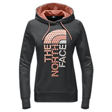 The North Face Trivert Diamond Logo Hoodie for Ladies