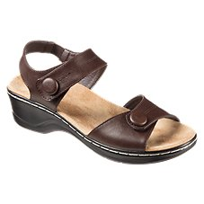 Natural Reflections Athena Wedge Sandals for Ladies