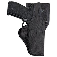 Bianchi 7115 Vanguard Mid-Ride Duty Holster with Jacket Slot Belt Loop