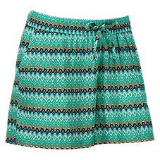 Natural Reflections Ikat Print Shorts for Ladies