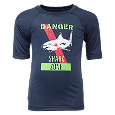 Bass Pro Shops Shark Zone Rash Guard Shirt for Toddlers or Boys