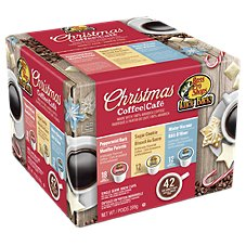 Uncle Buck's Coffee Holiday Favorites Coffee Mix Single Serve Brew Cups