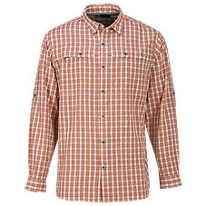 RedHead No Fly Zone Plaid Long-Sleeve Shirt for Men