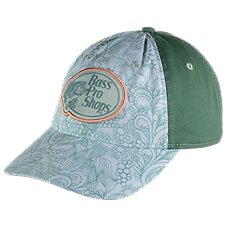 Bass Pro Shops Sage Paisley Cap for Ladies