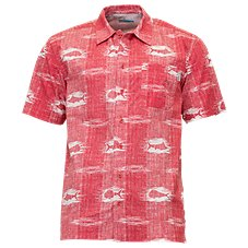 Columbia PFG Trollers Best Ikat Print Shirt for Men