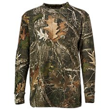 TrueTimber Cotton Long-Sleeve Shirt for Youth