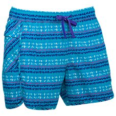 Ascend Printed Board Shorts for Ladies