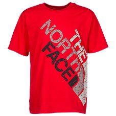 The North Face Graphic Oversize Crackle Logo T-Shirt for Boys