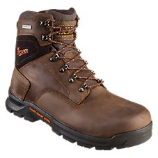 Danner Crafter Waterproof Non-Metallic Safety Toe Work Boots for Men