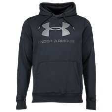 Under Armour Rival Fleece Fitted Graphic Hoodie for Men