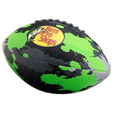 Bass Pro Shops Neon Camo Football