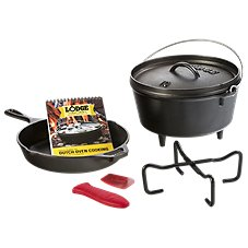 Lodge 7-Piece Cast Iron Sporting Goods Cookware Set