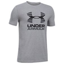 Under Armour Two Tone Logo T-Shirt for Boys