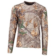 Under Armour Mid-Season Reversible Wool Base Crew Top for Men