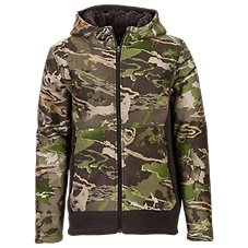 Under Armour Stealth Mid Season Hooded Jacket for Youth