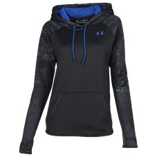 Under Armour Storm Armour Fleece Camo Blocked Hoodie for Ladies