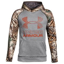 Under Armour Armour Fleece Camo Blocked Big Logo Hoodie for Kids