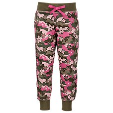Bass Pro Shops Floral Camo Jogger Pants for Toddlers or Girls