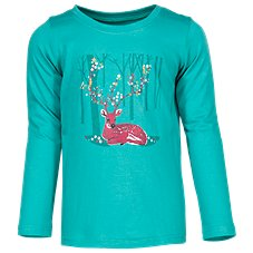 Bass Pro Shops Forest Crew Neck Long Sleeve Shirt for Toddlers or Girls