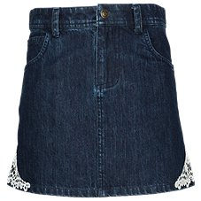 Bass Pro Shops Denim Skirt with Lace for Toddlers or Girls