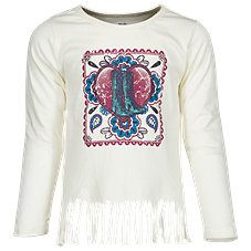 Bass Pro Shops Fringe Crewneck T-Shirt for Toddlers or Girls