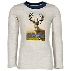 Bass Pro Shops Hidden Deer Long-Sleeve T-Shirt for Toddlers or Boys